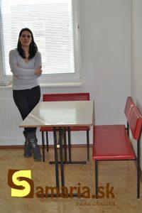 Stôl so sedením
