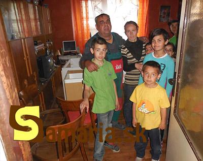 Rodina so 6 deťmi